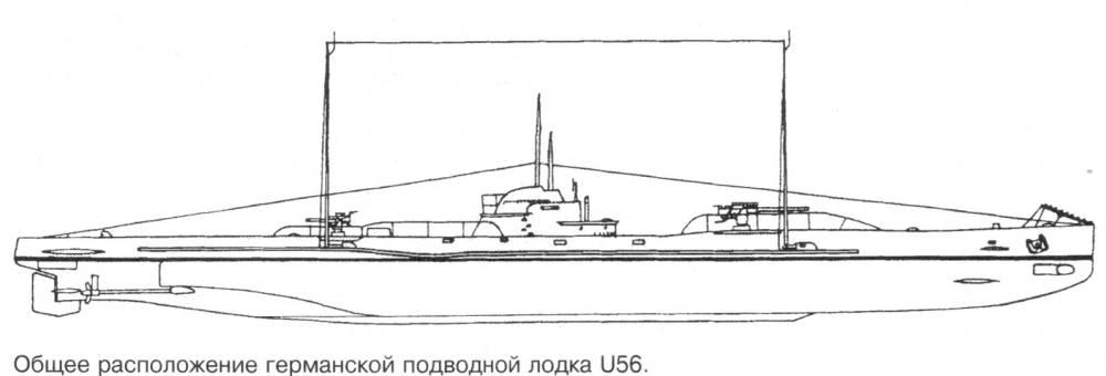 рисунки германских подводных лодок
